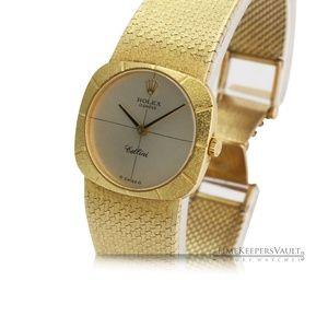 Vintage Lady's Cellini Rolex Watch Model No. 3878